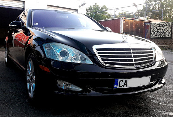 Mercedes S 550 Long Full