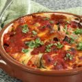 Mozzarella and Eggplant Casserole