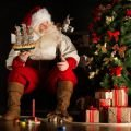 Origins of the Image of Snow White by Santa Claus`s Side